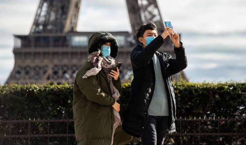 کرونا - پاریس