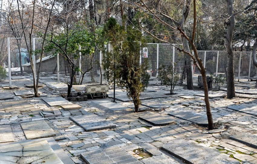 قبرستان ظهیرالدوله از مکان های ناشناخته تهران