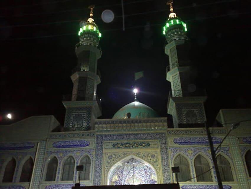 مسجد صاحب الزمان (عج) از مکان های دیدنی ایلام