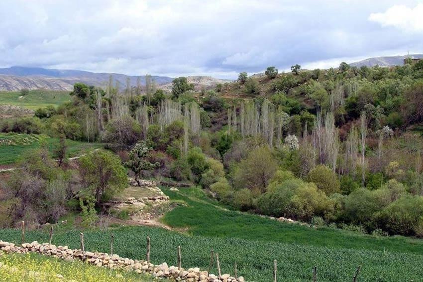 روستای کُلم در ایلام