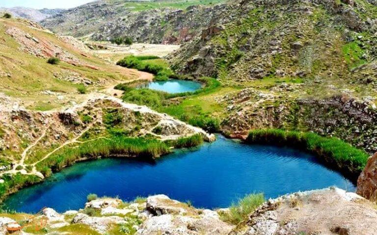 دریاچه دوقلو سیاه گاو در استان ایلام