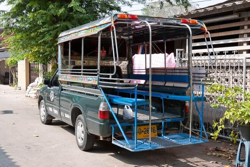 حمل و نقل عمومی در پاتایا تایلند