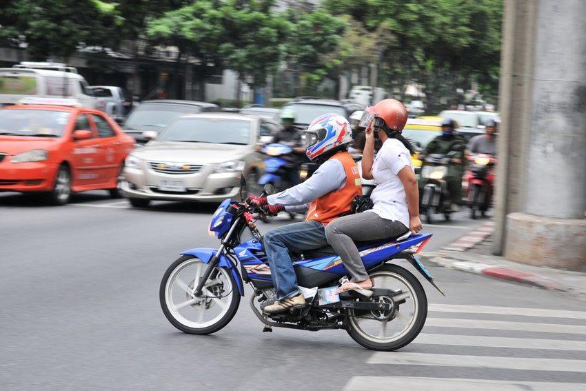 تاکسی های موتوری در پاتایا