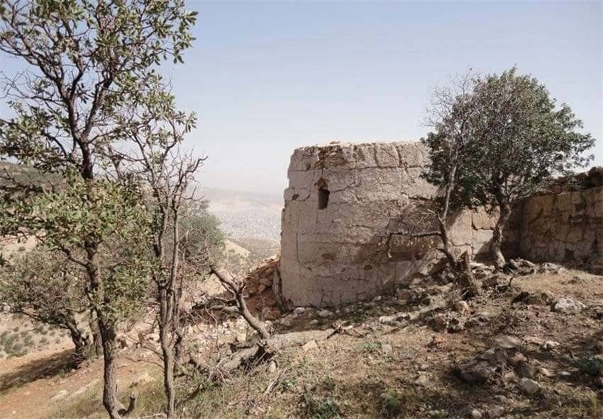 قلعه اسماعیل خان از جاهای دیدنی ایلام