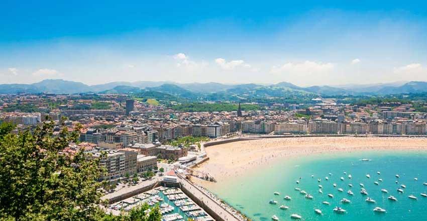 گشت و گذار در سن سباستین از جاهای دیدنی اسپانیا