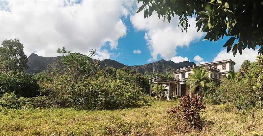 اقامتگاه رضا شاه در جزیره موریس