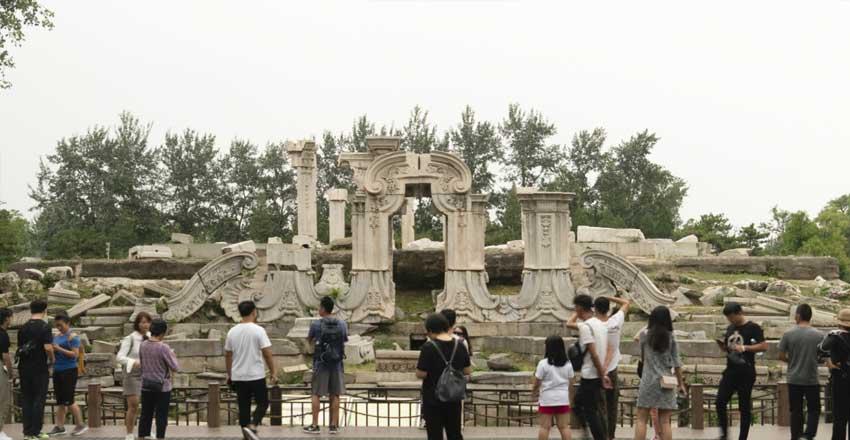 قصر تابستانی - از جاهای دیدنی پکن
