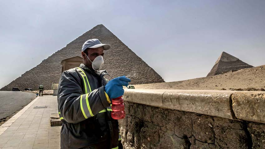 کرونا - مصر