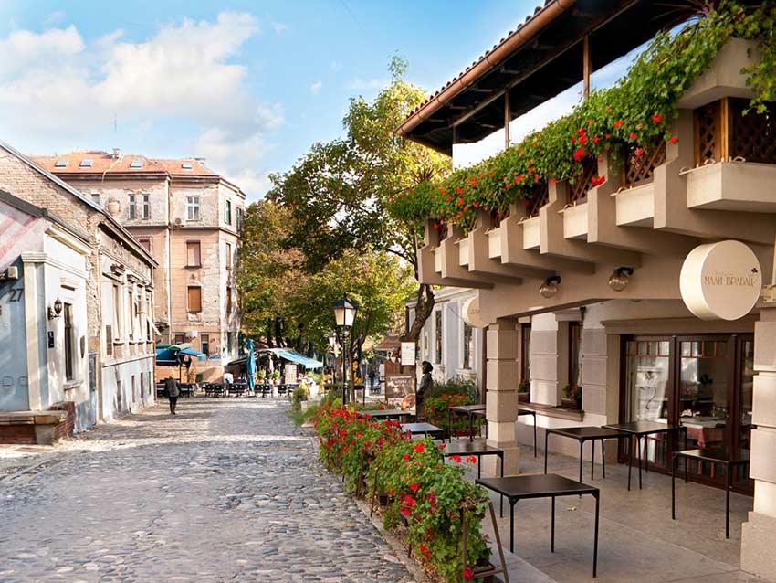خیابان اسکادارلیا در بلگراد