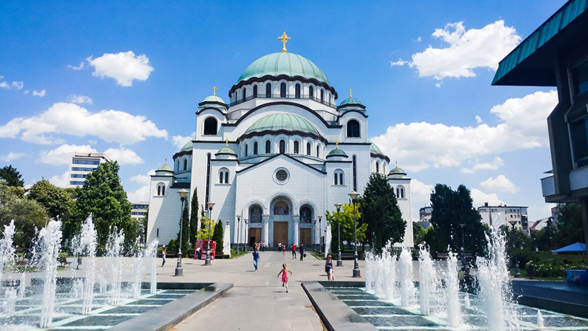 کلیسای سنت ساوا - سفر به بلگراد