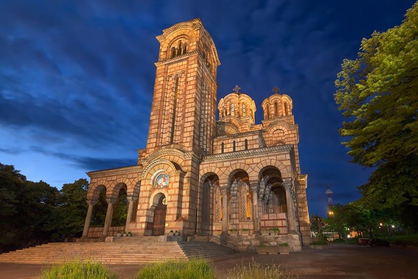 کلیسای جامع سنت مارک - سفر به بلگراد