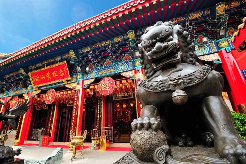 معبد وونگ تای سین - سفر به هنگ کنگ