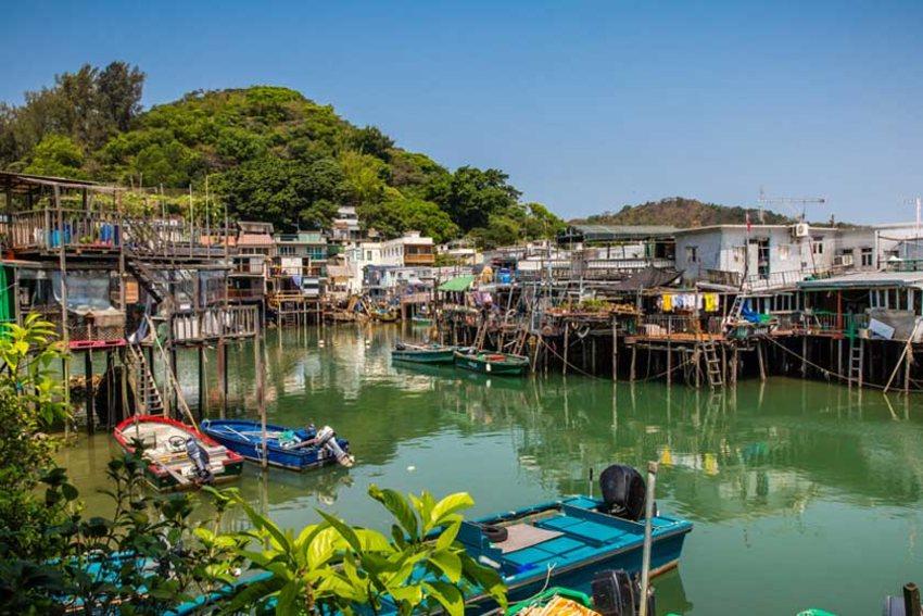دهکده ماهیگیری تای او - سفر به هنگ کنگ