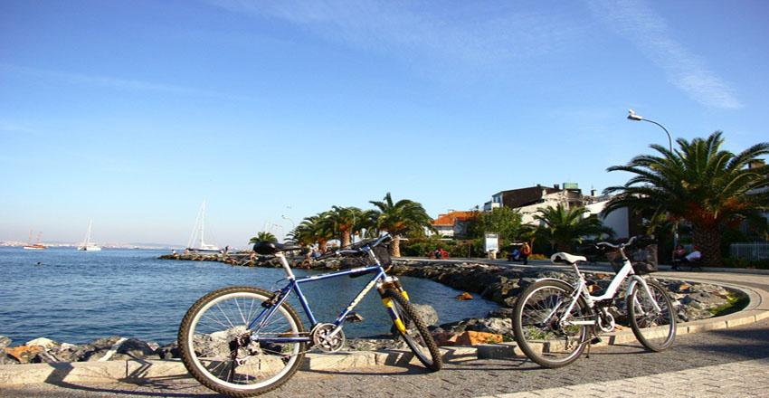 دوچرخه سواری در جزیره بیوک آدا ترکیه