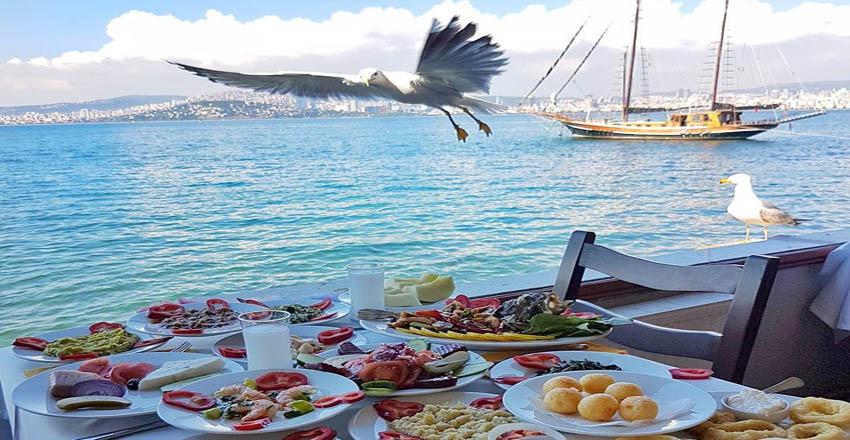 غذا در جزیره بیوک آدا