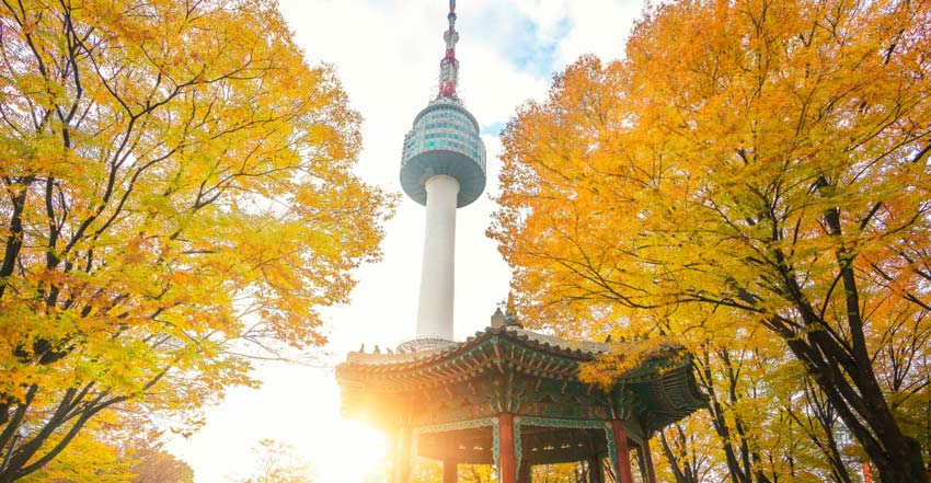 برج سئول - جاهای دیدنی سئول