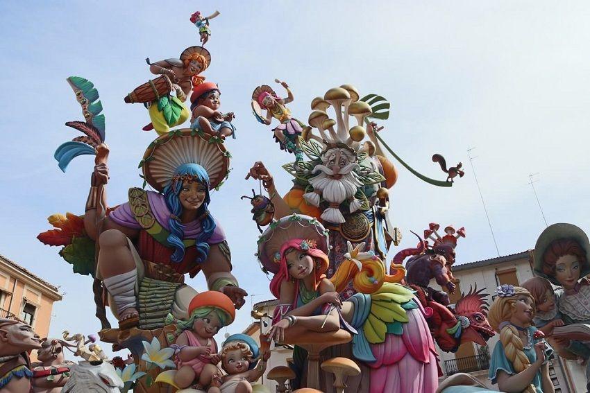 جشنواره فالاس - جاهای دیدنی والنسیا اسپانیا