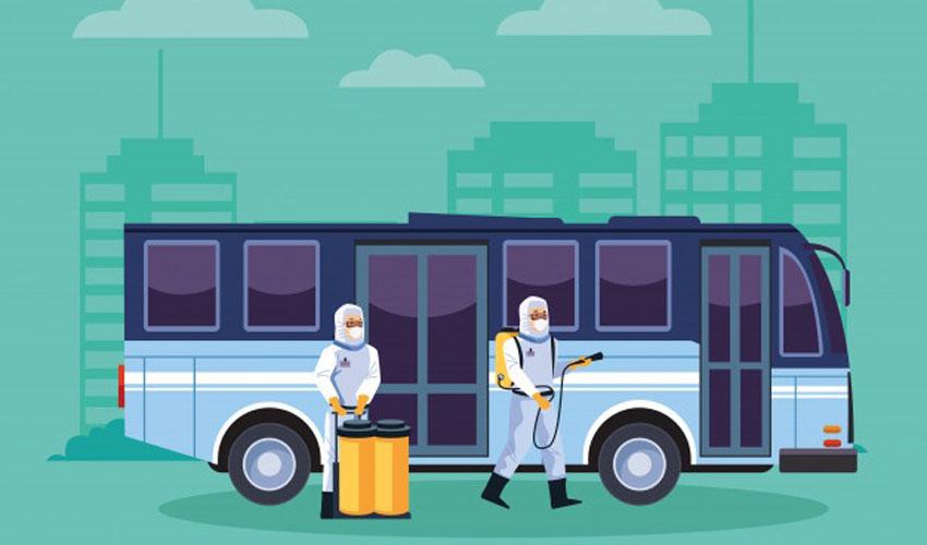 سفر در ایام کرونا با اتوبوس