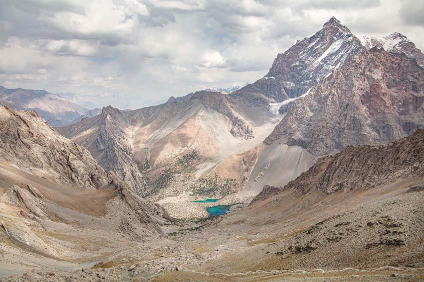 کوههای فان در تاجیکستان