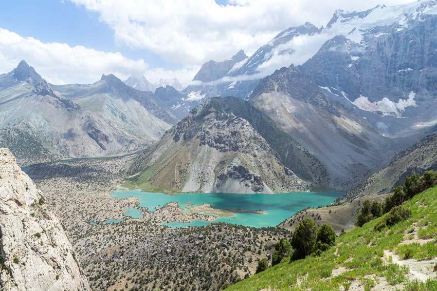 دریاچه اسکندرکول تاجیکستان