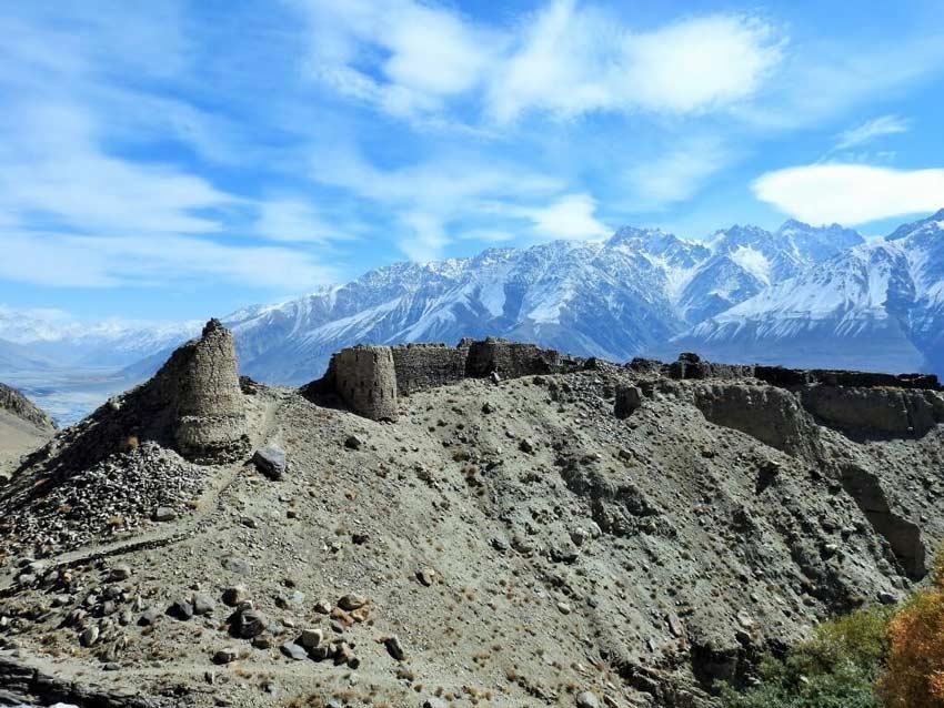 قلعه یامچون تاجیکستان