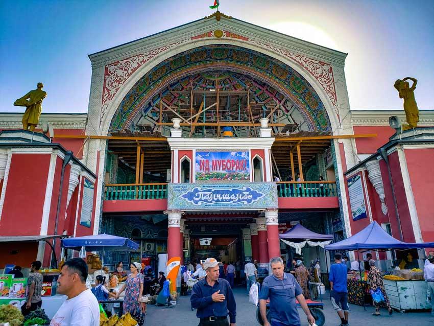 پنجشنبه بازار - جاهای دیدنی تاجیکستان