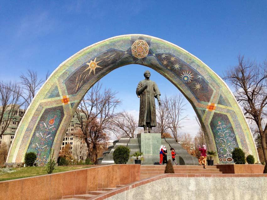 پارک رودکی - تاجیکستان