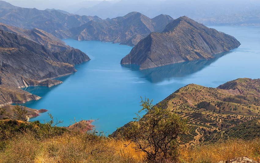 سد نورک - جاهای دیدنی تاجیکستان