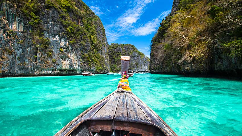 کرابی - سفر به تایلند