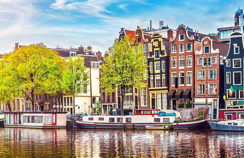آمستردام هلند - زیباترین شهرهای دنیا