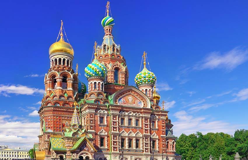 سن پترزبورگ روسیه - زیباترین شهرهای دنیا