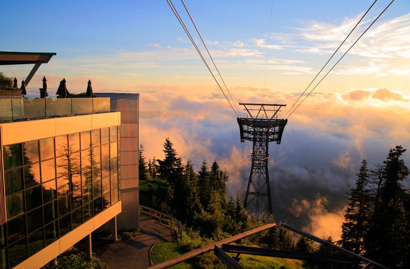 کوهستان گروس - دیدنی های ونکوور