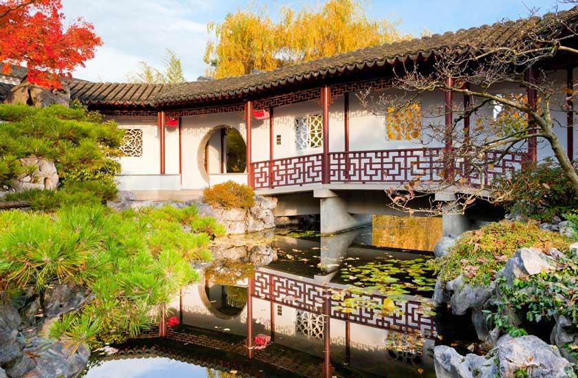 باغ چینی - جاهای دیدنی ونکوور