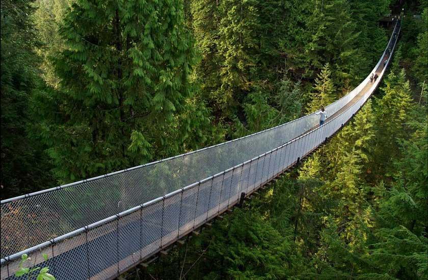 پل معلق کاپیلانو - دیدنی های ونکوور