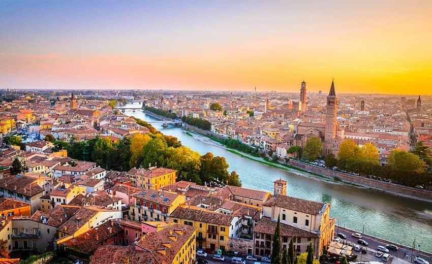 ورونا شهرهای ایتالیا
