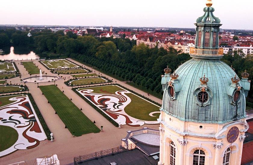 باغ و قصر شارلوتبرگ - جاهای دیدنی برلین