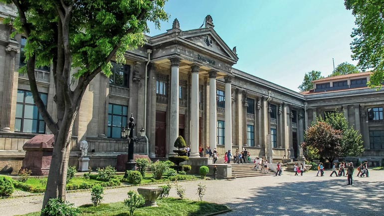 ردپای دوران را در موزه باستان شناسی استانبول دنبال کنید