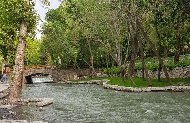 پارک وکیل آباد مشهد؛ یک فنجان آرامش از چای طبیعت