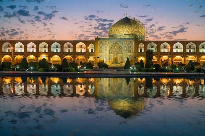 اصفهان از دارک تا دروازه شیراز شهر آبی رویایی