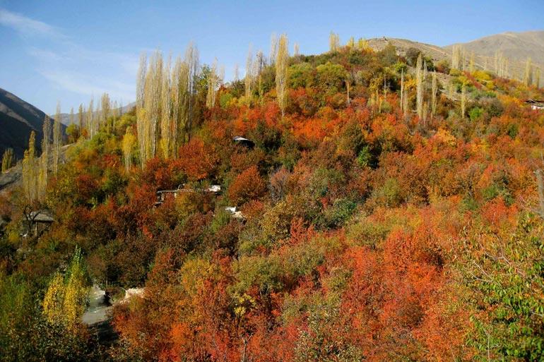 روستای زشک مشهد؛ تماشای بهشتی فرازمینی با چشمان زمینی