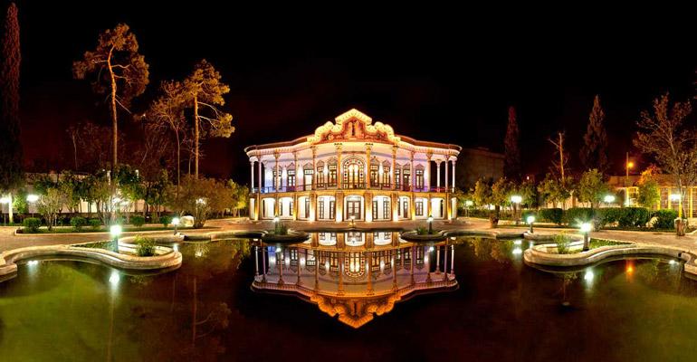 خانه شاپوری شیراز؛ باغ و عمارت تاجر هنردوست ایرانی