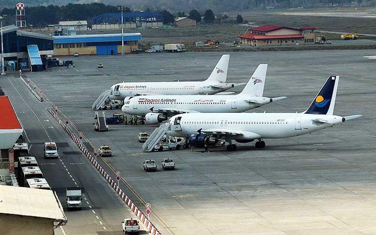 امکانات فرودگاه کرمانشاه