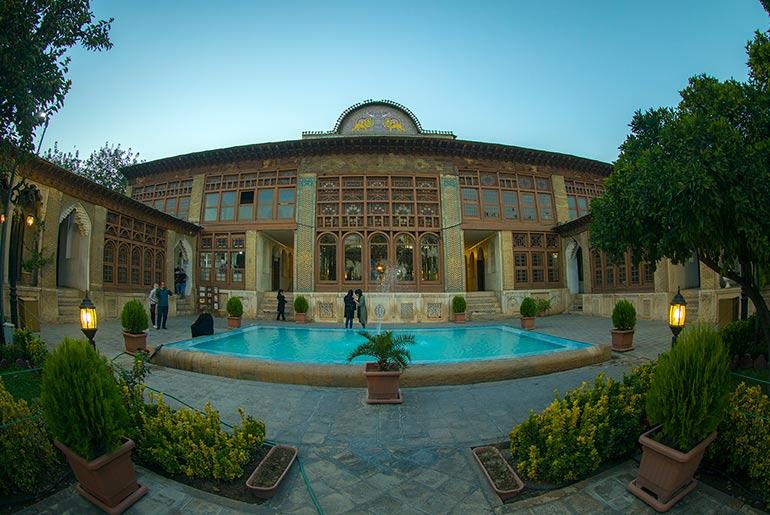 خانه زینت الملک شیرازی
