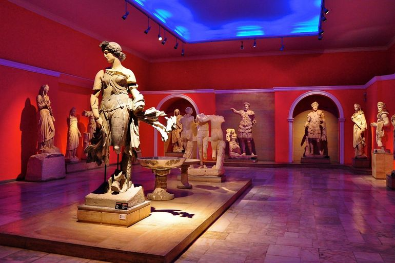 موزه باستان شناسی آنتالیا؛ سفر در زمان