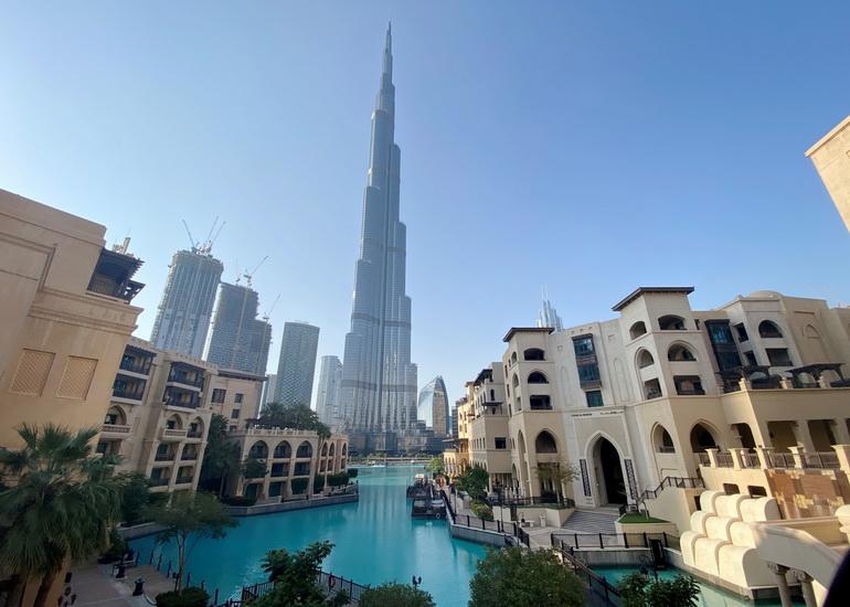 برج خلیفه؛ بلندترین برج جهان با 828 متر