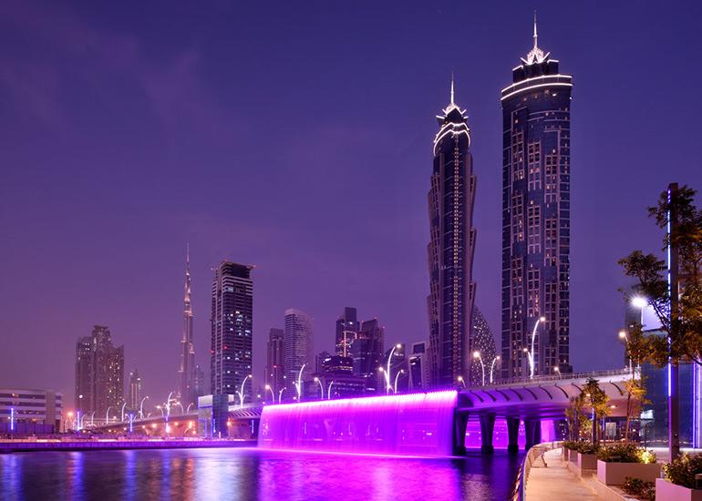 برج جیدبلیو ماریوت مارکوییس دبی