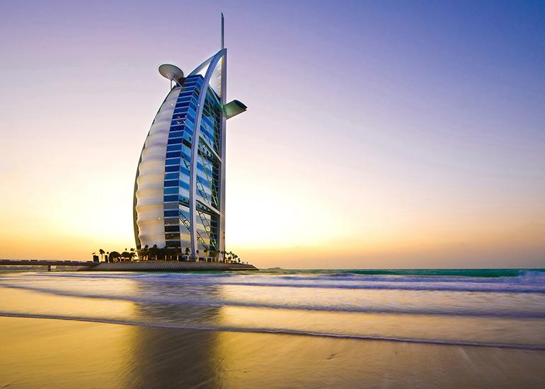 برج العرب، هتل خوشطرح دبی