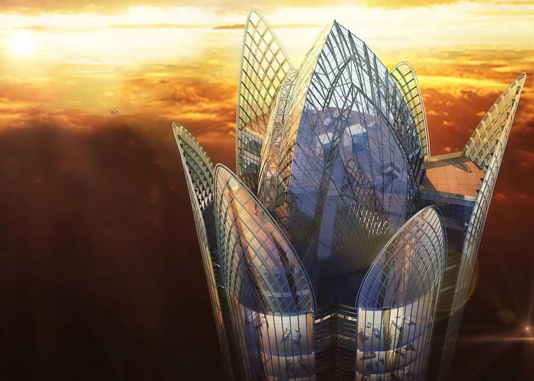 برج العالم، سازهای بلندقامت با ارتفاع 510 متر