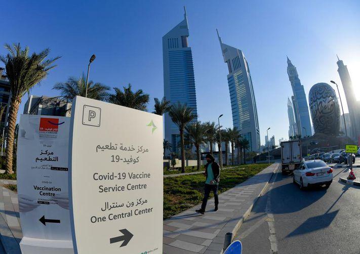 واکسن کرونا در دبی برای توریستها