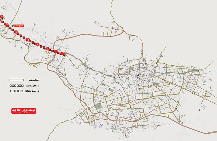 پل معالی آباد – شهر صدرا